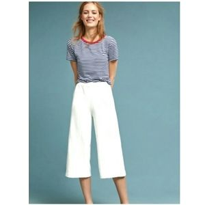 Anthro Saturday Sunday muse Terry wide leg pants